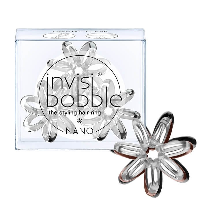 Резинка для волос Invisibobble Nano - Crystal Clear