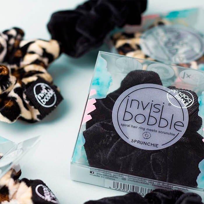 Резинка для волос Invisibobble Sprunchie - True Black