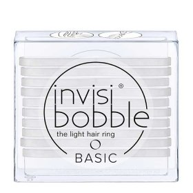 Резинки для волос Invisibobble Basic - Crystal Clear