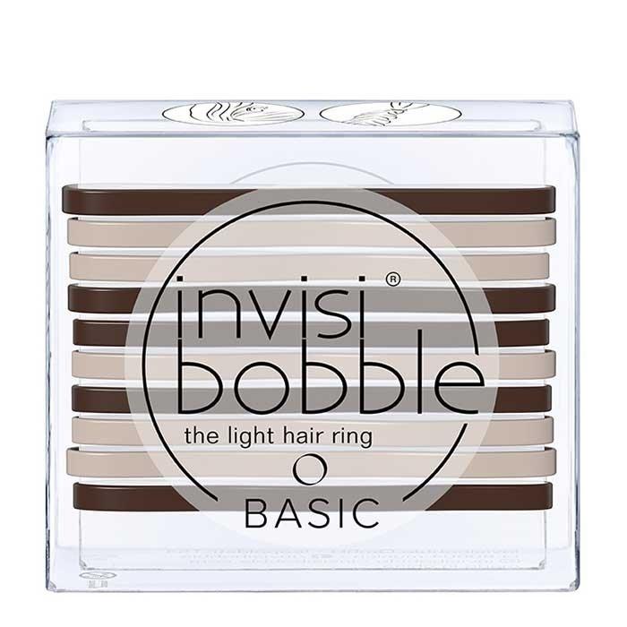 Резинки для волос Invisibobble Basic - Mocca & Cream