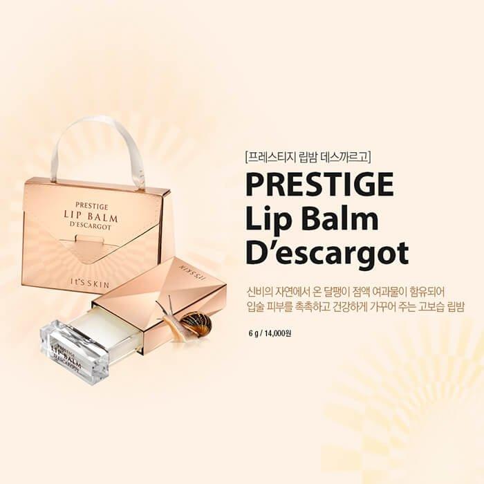 Бальзам для губ It's Skin Prestige Lip Balm D'escargot