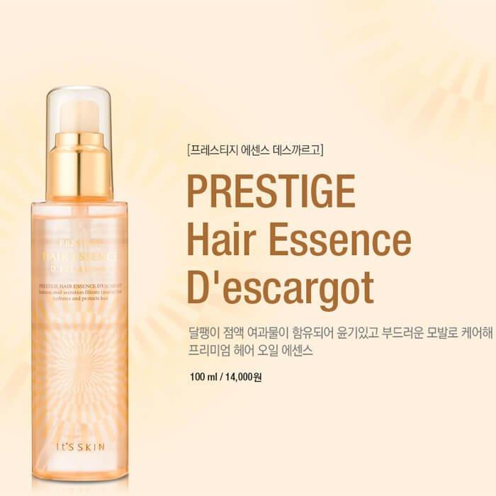 Эссенция для волос It's Skin Prestige Hair Essence D'escargot