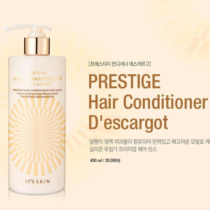 Кондиционер для волос It's Skin Prestige Hair Conditioner D'escargot