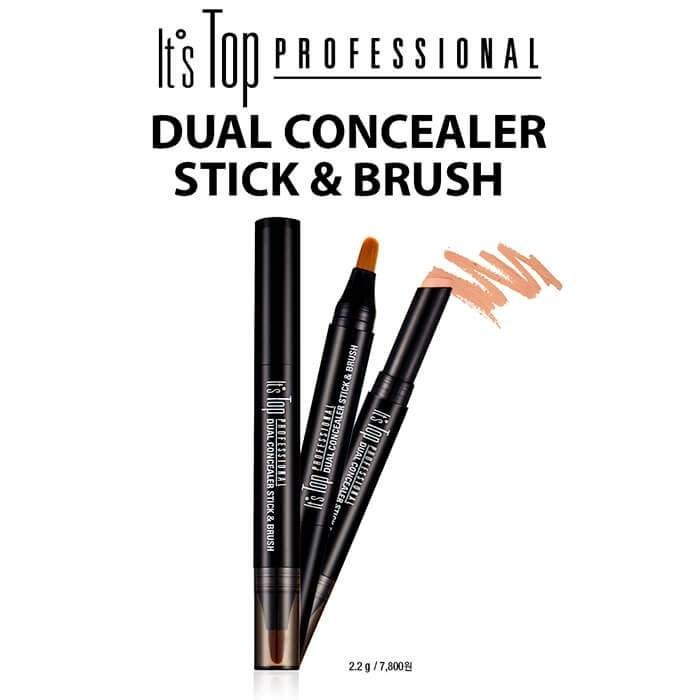 Консилер для лица It's Skin It's Top Professional Dual Concealer Stick & Brush