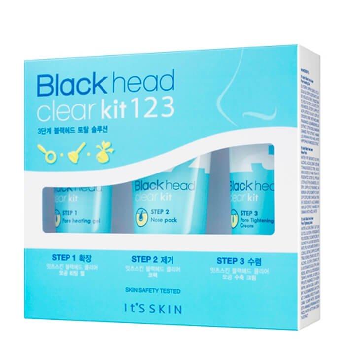 Набор от чёрных точек It's Skin Blackhead Clear Kit 123