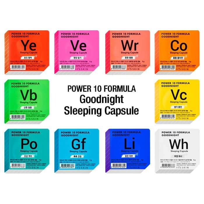 Ночная маска-капсула It's Skin Power 10 Formula Goodnight Co Sleeping Capsule
