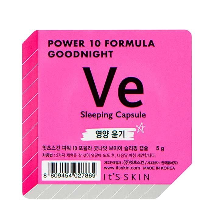 Ночная маска-капсула It's Skin Power 10 Formula Goodnight Ve Sleeping Capsule