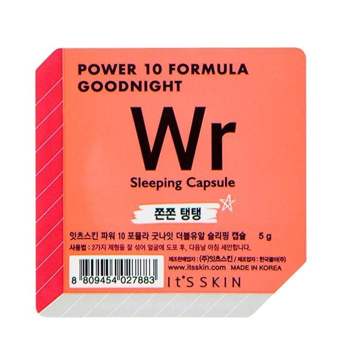 Ночная маска-капсула It's Skin Power 10 Formula Goodnight Wr Sleeping Capsule