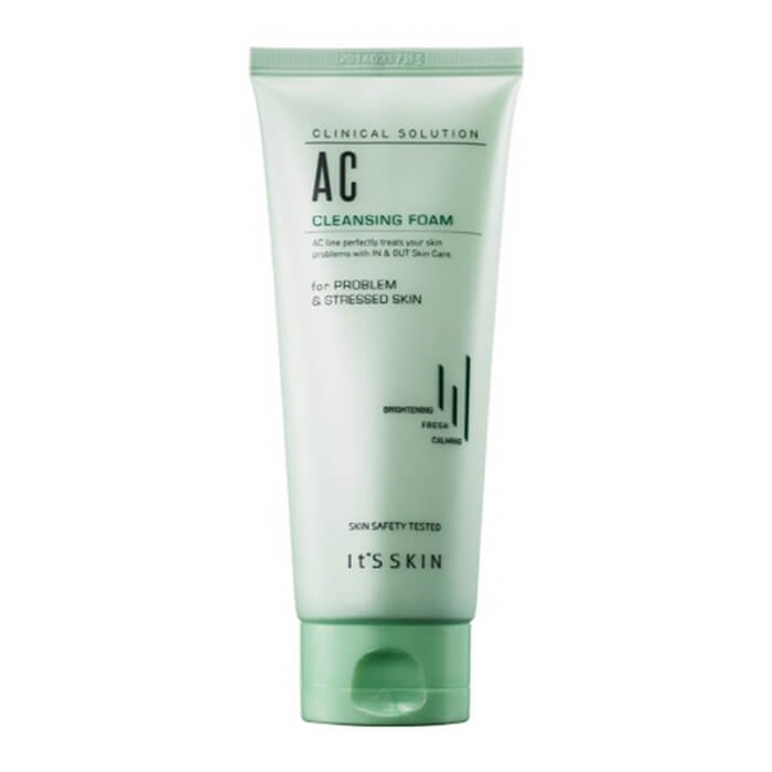 Очищающая пенка It's Skin Clinical Solution AC Cleansing Foam