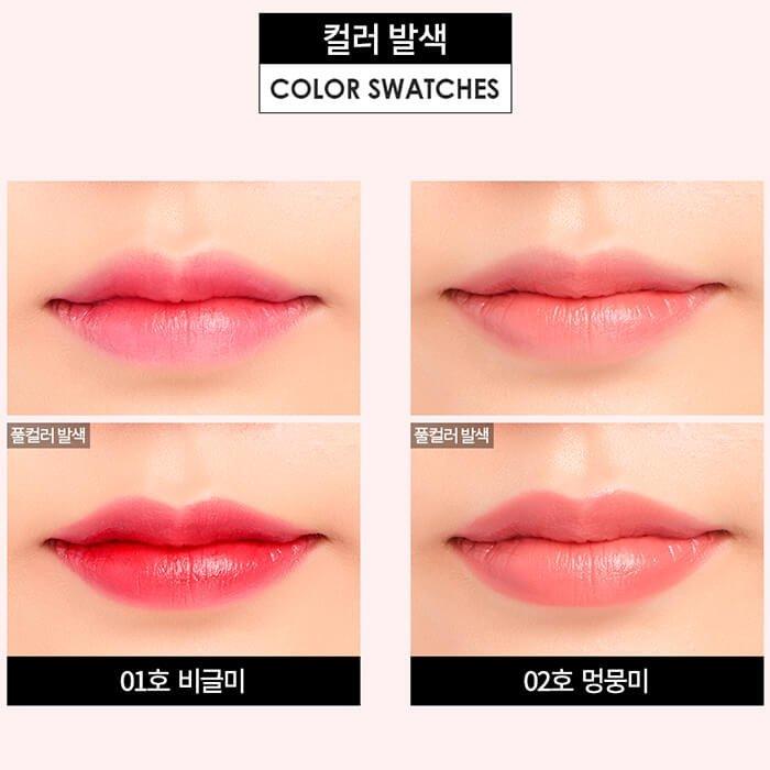 Помада для губ It's Skin Life Color Glow Me Lips - Puppy New Year