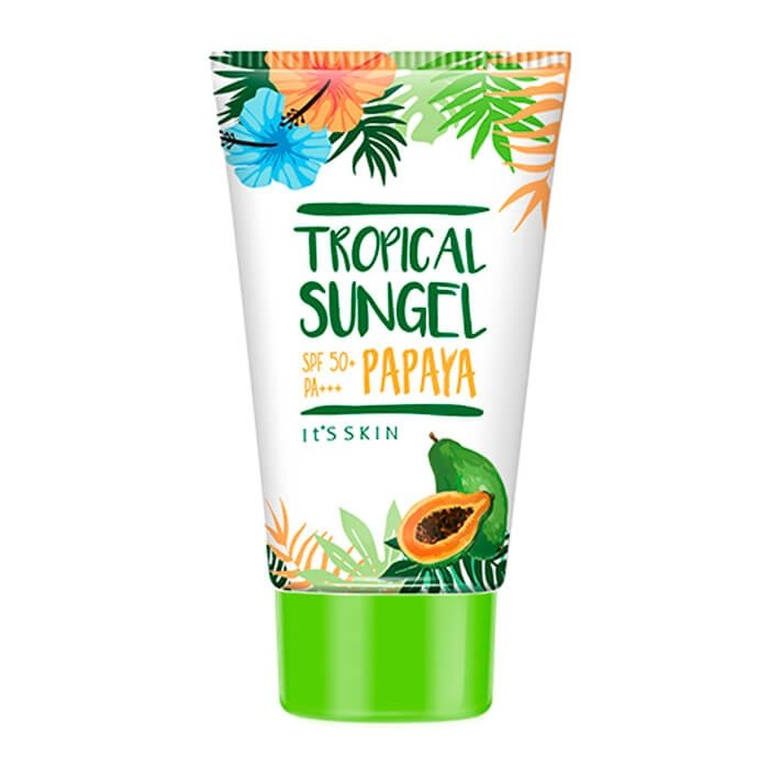 Солнцезащитный гель It's Skin Tropical Sun Gel - Papaya