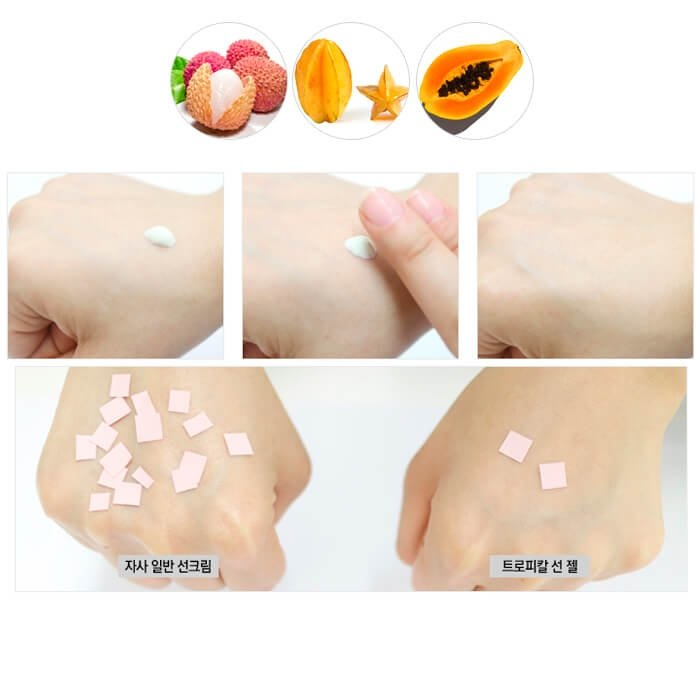 Солнцезащитный гель It's Skin Tropical Sun Gel - Starfruits