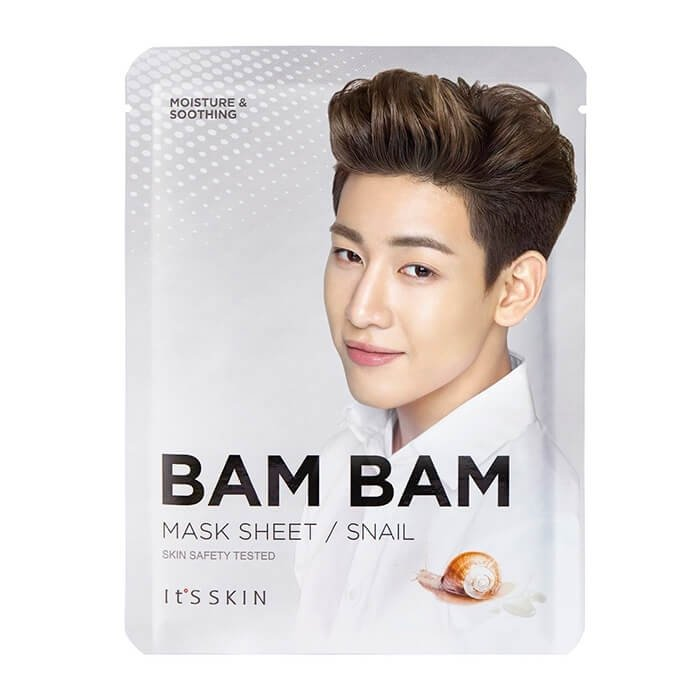Тканевая маска It's Skin Bam Bam Snail Mask Sheet