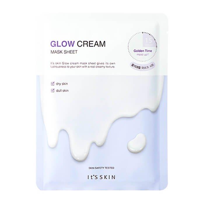 Тканевая маска It's Skin Glow Cream Mask Sheet