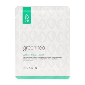 Тканевая маска It's Skin Green Tea Watery Mask Sheet