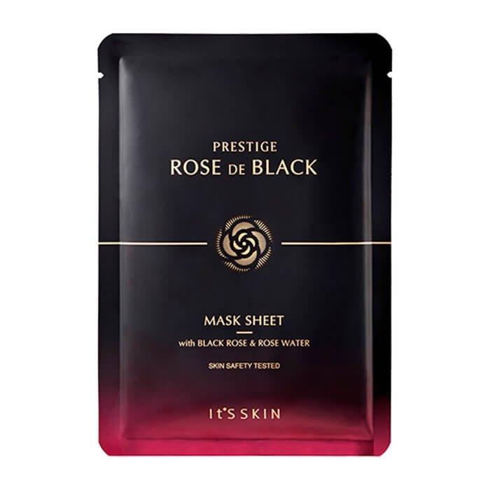Тканевая маска It's Skin Prestige Rose De Black Mask Sheet