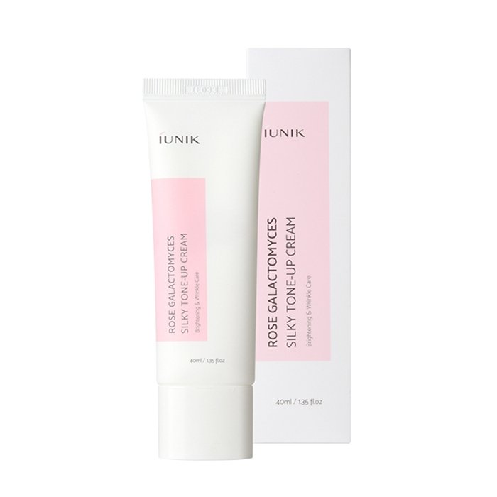 Крем для лица iUNIK Rose Galactomyces Silky Tone Up Cream