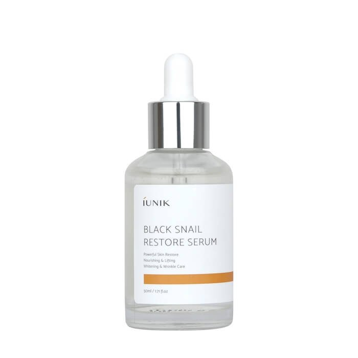 Сыворотка для лица iUNIK Black Snail Restore Serum (50 мл)