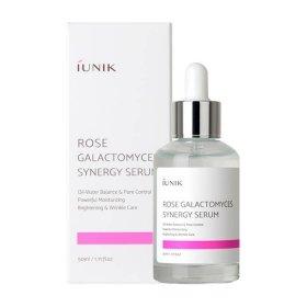Сыворотка для лица iUNIK Rose Galactomyces Synergy Serum (50 мл)