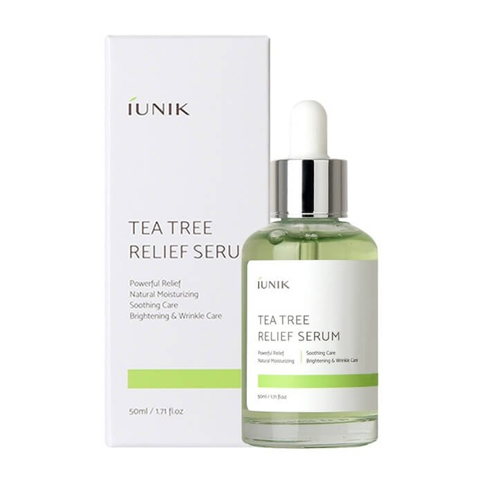 Сыворотка для лица iUNIK Tea Tree Relief Serum (50 мл)