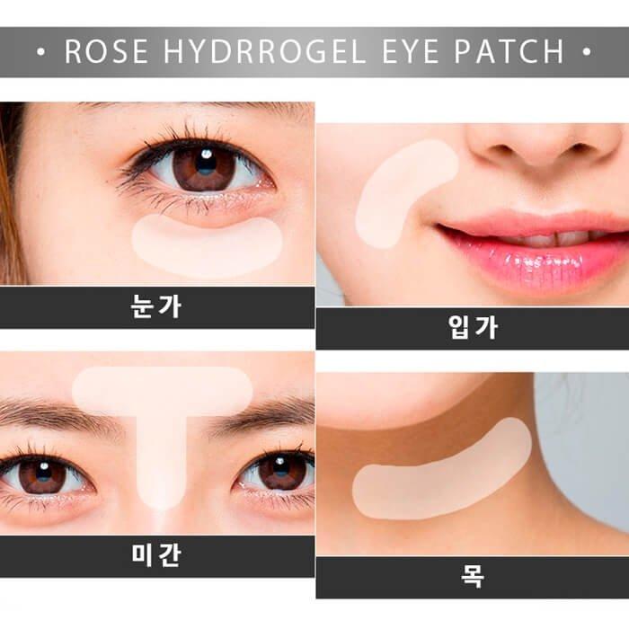 Патчи для век IYOUB Rose Hydrogel Eye Patch