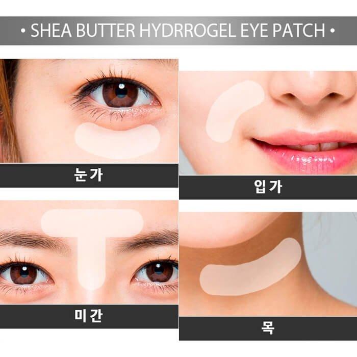 Патчи для век IYOUB Shea Butter Hydrogel Eye Patch