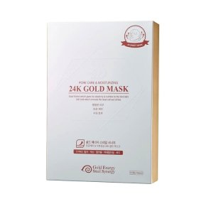 Тканевая маска J&G Gold Snail Pore Care & Moisturizing 24K Gold Mask (10 шт.)
