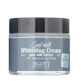 Крем для лица Jigott Goat Milk Whitening Cream