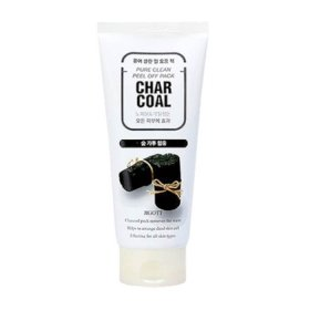 Маска-плёнка Jigott Char Coal Pure Clean Peel Off Pack