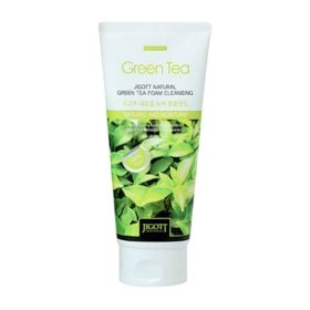 Пенка для умывания Jigott Natural Green Tea Foam Cleansing