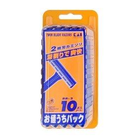 Бритва мужская Kai Razor Twin Blade Razors BB-2 (10 шт.)