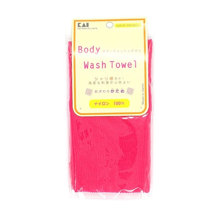 Мочалка для душа Kai Wash Towel Raspberry