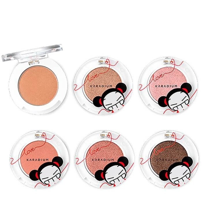 Тени для век Karadium Pucca Shine Eyeshadow