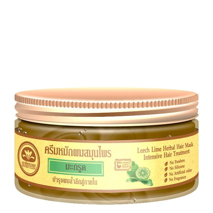 Маска для волос Khaokho Talaypu Leech Lime Herbal Hair Mask