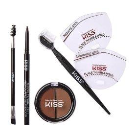 Набор для моделирования бровей Kiss Beautiful Brow Kit (KPLK02C)