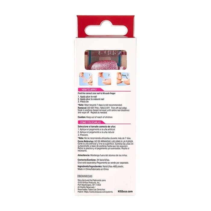 Набор накладных ногтей Kiss Fashion Glitter Nails (DBGN02)