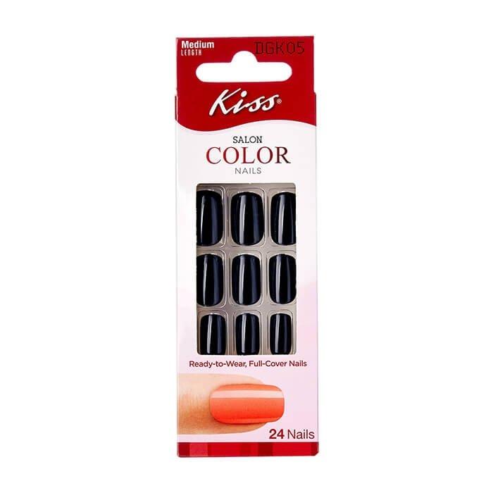Набор накладных ногтей Kiss Salon Color Nails (DGK05RF)