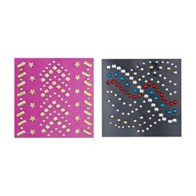 Набор стикеров для ногтей Kiss Nail Artist Metallic Stones Studs (NS32)