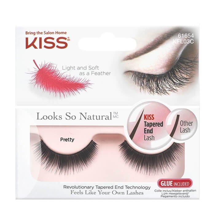 Накладные ресницы Kiss Looks so Natural Eyelashes Pretty (KFL03C)
