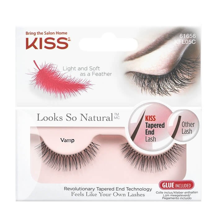 Накладные ресницы Kiss Looks so Natural Eyelashes Vamp (KFL05C)