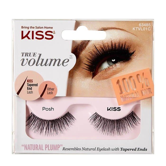 Накладные ресницы Kiss True Volume Lash Posh (KTVL01C)