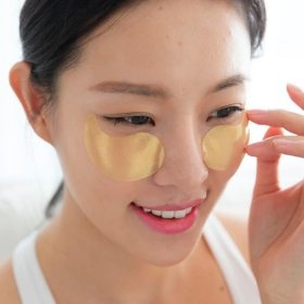 Гидрогелевые патчи Kocostar Princess Eye Patch Gold (1 пара)