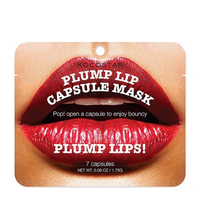 Сыворотка для губ Kocostar Plump Lip Capsule Mask Pouch (7 капсул)