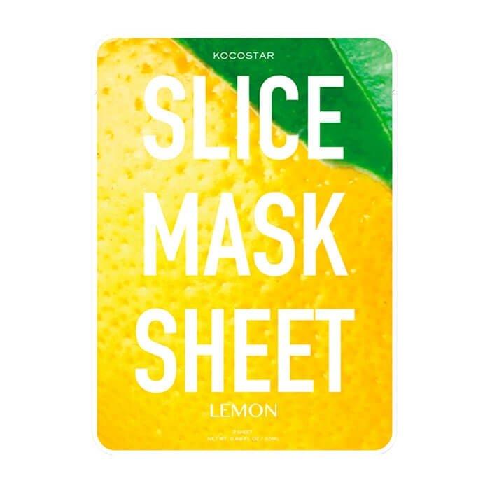 Тканевая маска Kocostar Slice Mask Sheet - Lemon