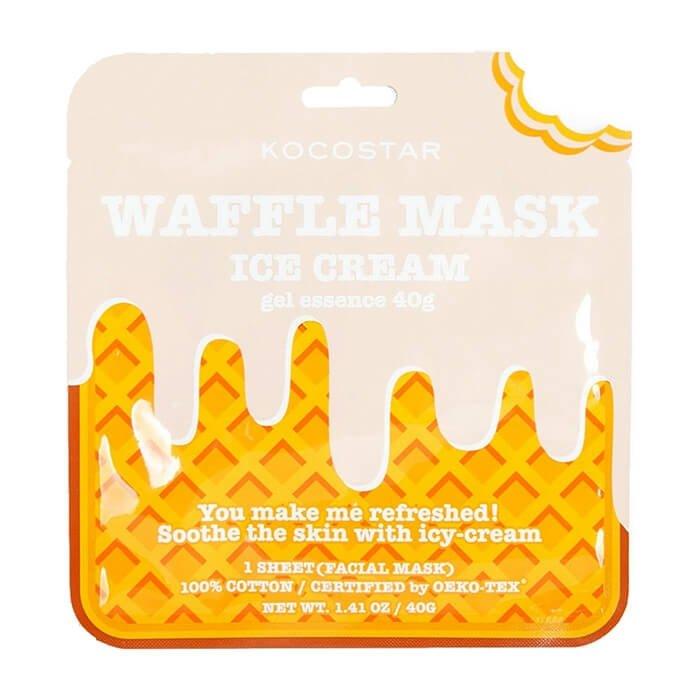 Тканевая маска Kocostar Waffle Mask Ice Cream