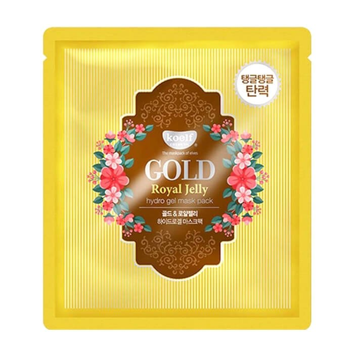 Гидрогелевая маска Koelf Gold & Royal Jelly Hydrogel Mask Pack