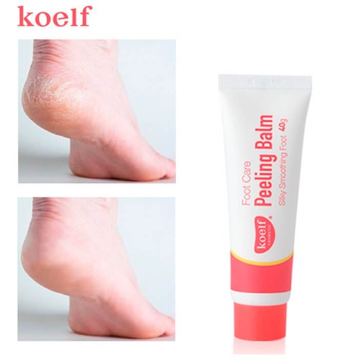 Крем-пилинг для ног Koelf Foot Care Peeling Balm