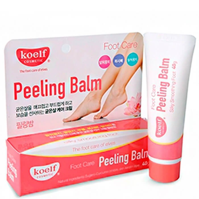 Бальзам для кожи ступней Koelf Foot Care Peeling Balm с эффектом пилинга 40 гр