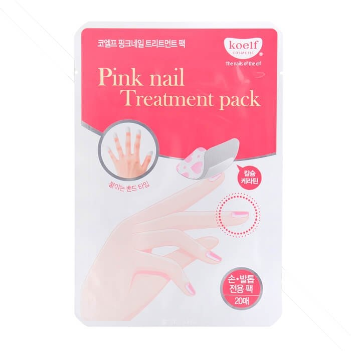 Маска для ногтей Koelf Pink Nail Treatment Pack
