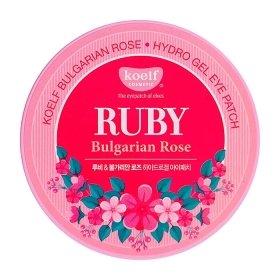 Патчи для глаз Koelf Ruby Bulgarian Rose Hydrogel Eye Patch